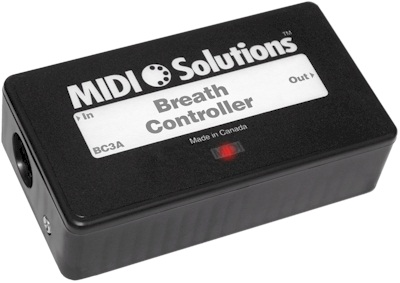 Interface midi Midi solutions Breath Controller
