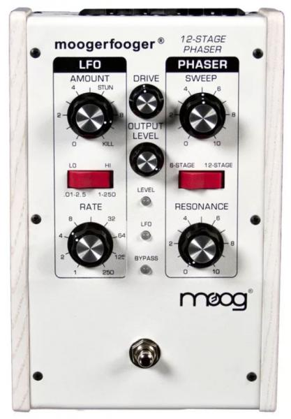 image Moogerfooger MF-103 12-Stage Phaser Ltd - White