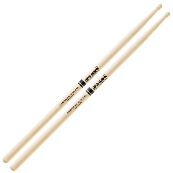 Baguette batterie Pro mark 5A Pro-round TXPR5AW - wood tip
