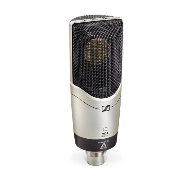 Microphone usb podcast radio Sennheiser MK4 Digital