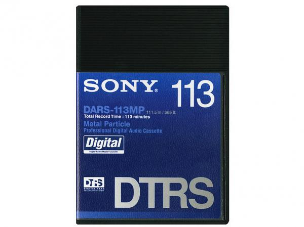 Stockage media / carte sd Sony DARS-113MP Hi-8 DTRS Cassette