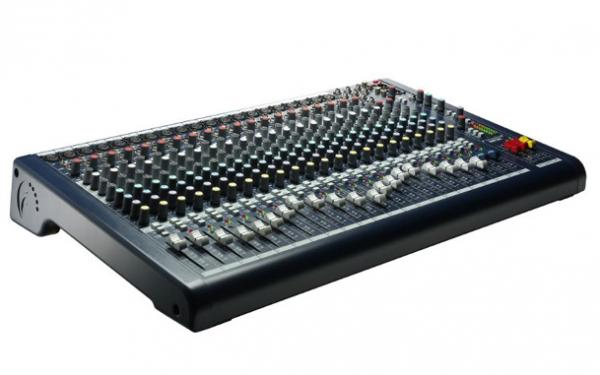 Soundcraft mpmi 20 table de mixage analogique - Meuble pour table de mixage ...