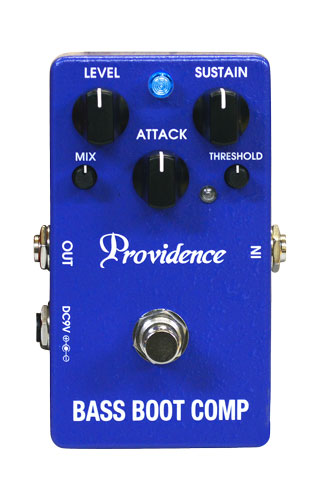 Pédale compression / sustain / noise gate Providence Bass Boot Comp BTC-1