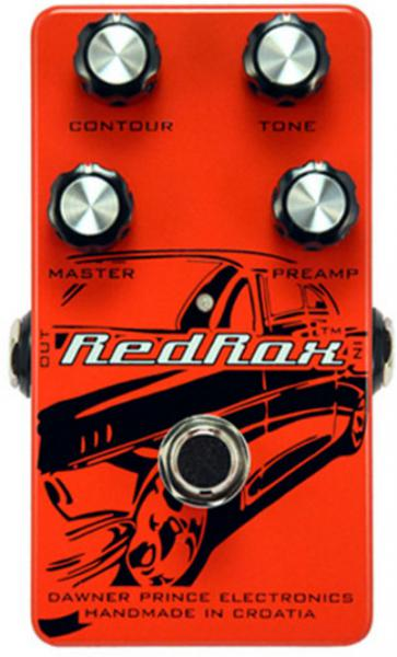 Pédale overdrive / distortion / fuzz Dawner prince Red Rox Distortion