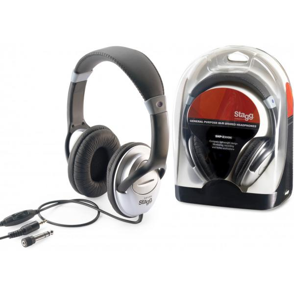 Casque studio & dj Stagg SHP 2300H