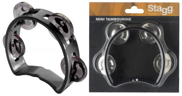 Percussions à secouer Stagg TAB-MINI Black