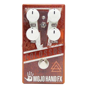 Pédale overdrive / distortion / fuzz Mojo hand fx Colossus