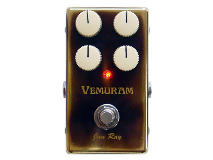 Pédale overdrive / distortion / fuzz Vemuram Jan Ray