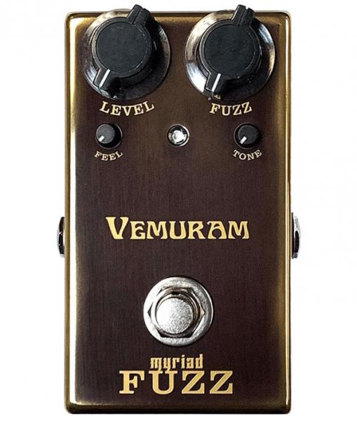 Pédale overdrive / distortion / fuzz Vemuram Josh Smith Myriad Fuzz