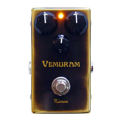 Pédale overdrive / distortion / fuzz Vemuram Karen
