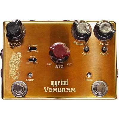 Pédale overdrive / distortion / fuzz Vemuram MYRIAD JOSH SMITH SIGNATURE