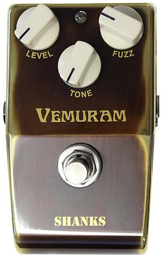 Pédale overdrive / distortion / fuzz Vemuram Shanks II Fuzz