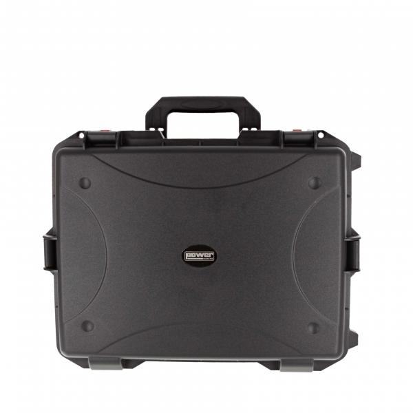 Flight case rangement Power acoustics IP65 CASE 50 Flight Case ABS Avec Trolley