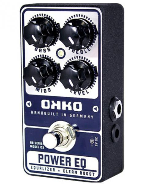 Pédale eq. / enhancer / buffer Okko Power EQ