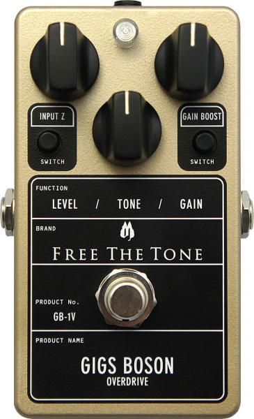 Pédale overdrive / distortion / fuzz Free the tone Gigs Boson