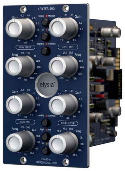 Equaliseur / channel strip Elysia Xfilter 500