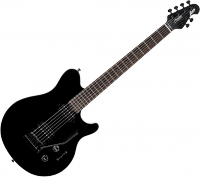 Guitare électrique solid body Sterling by musicman SUB Axis AX3 - Black