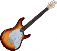Guitare électrique solid body Sterling by musicman S.U.B. Silo3 - 3 tone sunburst