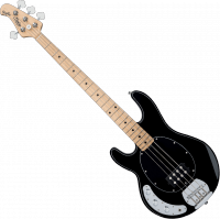 Basse électrique solid body Sterling by musicman SUB Ray4 (MN) gaucher - Black
