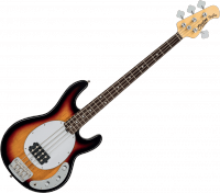 Basse électrique solid body Sterling by musicman Ray24 Classic - 3 tone sunburst