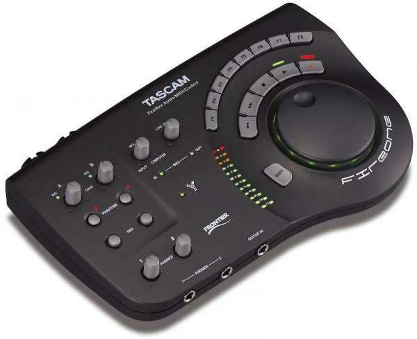 Interface audio firewire Tascam FireOne black