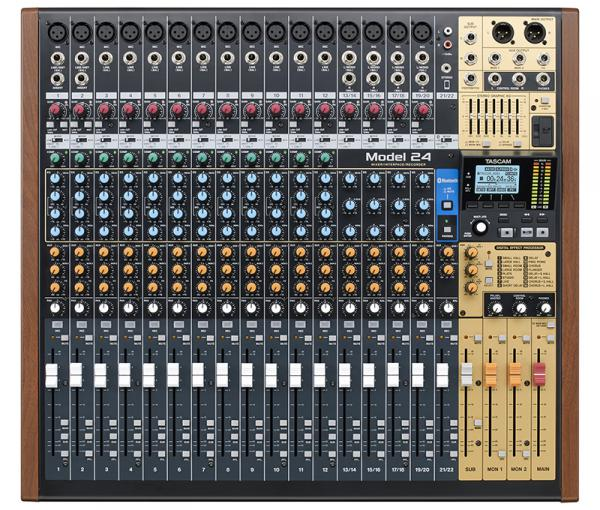 Table de mixage analogique Tascam Model 24