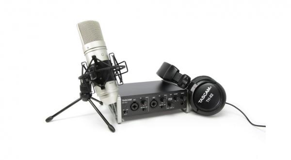 Pack home studio Tascam TrackPack US-2x2