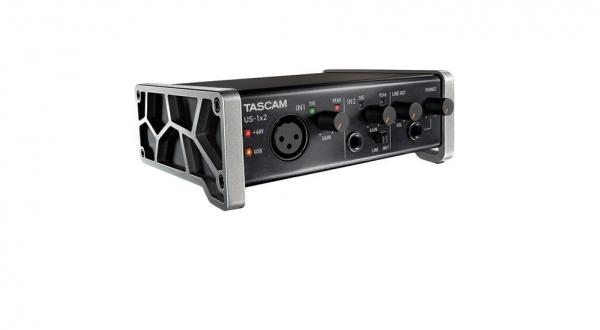 Interface audio usb Tascam US-1X2