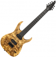 Guitare électrique solid body Mayones guitars Duvell Elite 7 - Natural