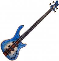 Basse électrique solid body Mayones guitars Prestige Classic 4 - Natural fade blue burst