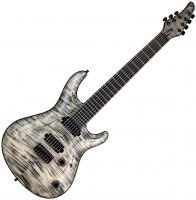 Guitare électrique baryton Mayones guitars Regius 7 Core (Ash, 27inch, Seymour Duncan) - Jeans black