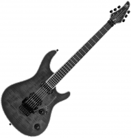 Guitare électrique solid body Mayones guitars Regius PRO 6 (Ash, Seymour Duncan, LockMeister) - Trans black gloss