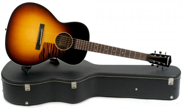 Guitare folk & electro Waterloo by collings WL-14L TR (#410) - Sunburst top