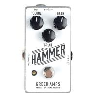 Pédale overdrive / distortion / fuzz Greer amps Hammer