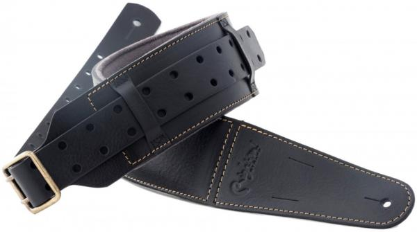 Sangle courroie Righton straps Magic Backbeat Guitar Strap - Black