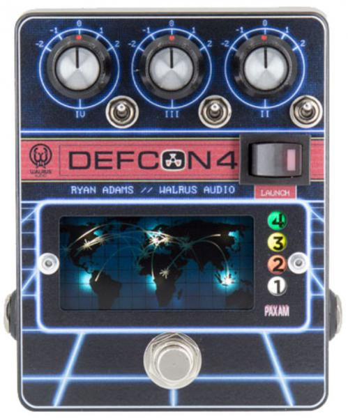 Pédale volume / boost. / expression Walrus DEFCON4 Preamp EQ Boost