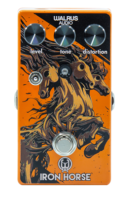 Pédale overdrive / distortion / fuzz Walrus Iron Horse Limited Edition Distorsion