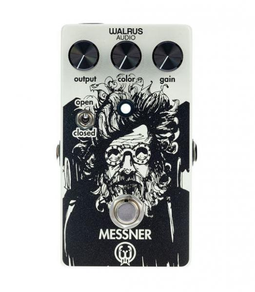 Pédale overdrive / distortion / fuzz Walrus Messner
