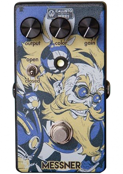 Pédale overdrive / distortion / fuzz Walrus Messner Overdrive Callisto Ltd