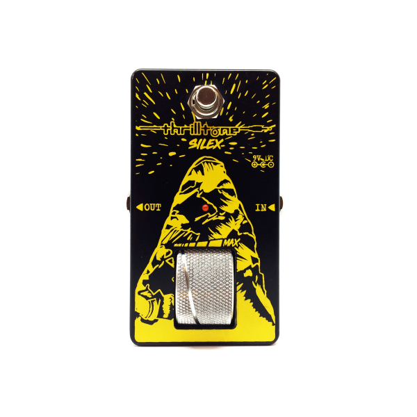 Pédale volume / boost. / expression Thrilltone SILEX V1 BOOST CLEAN BOOST