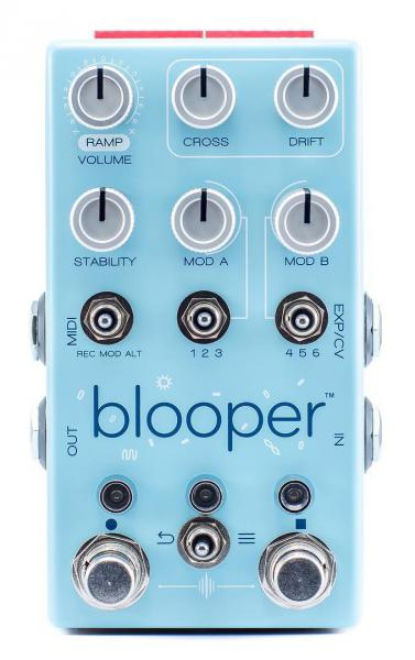 Pédale looper Chase bliss audio BLOOPER LOOPER
