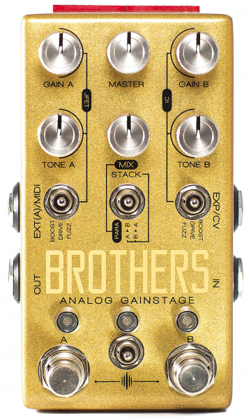 Pédale overdrive / distortion / fuzz Chase bliss audio Brothers Analog Gainstage