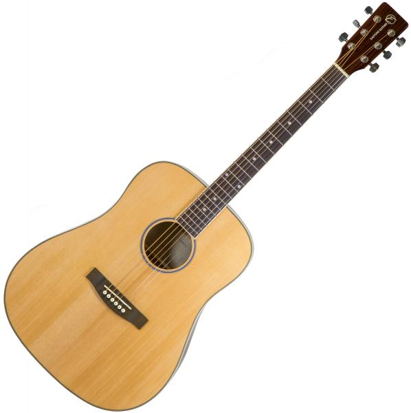 Guitare folk & electro Eastone DR160-NAT-G - Natural gloss