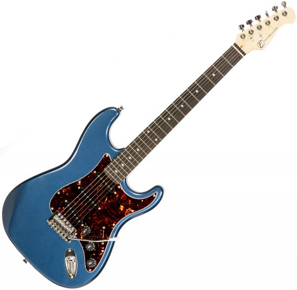 Guitare électrique solid body Eastone STR70T LPB (PUR) - Lake placid blue