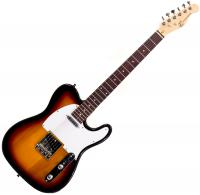 Guitare électrique solid body Eastone TL70 (RW) - 3 tone sunburst