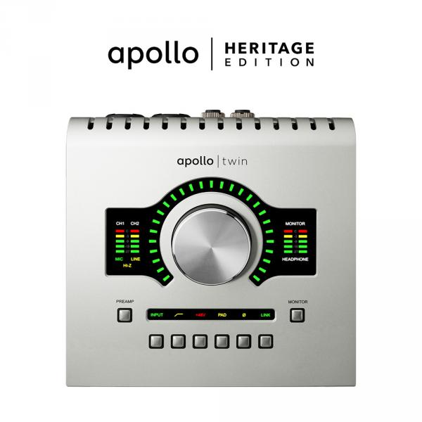 Carte son usb Universal audio Apollo Twin USB Duo Heritage Edition