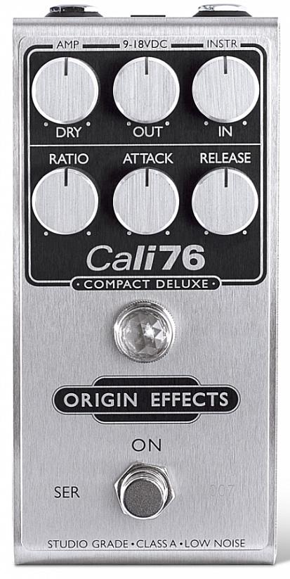 Origin effects Cali76 Compact Deluxe Compressor Compressor ...
