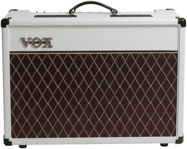 Combo ampli guitare électrique Vox AC15C1-WB Ltd - White Bronco