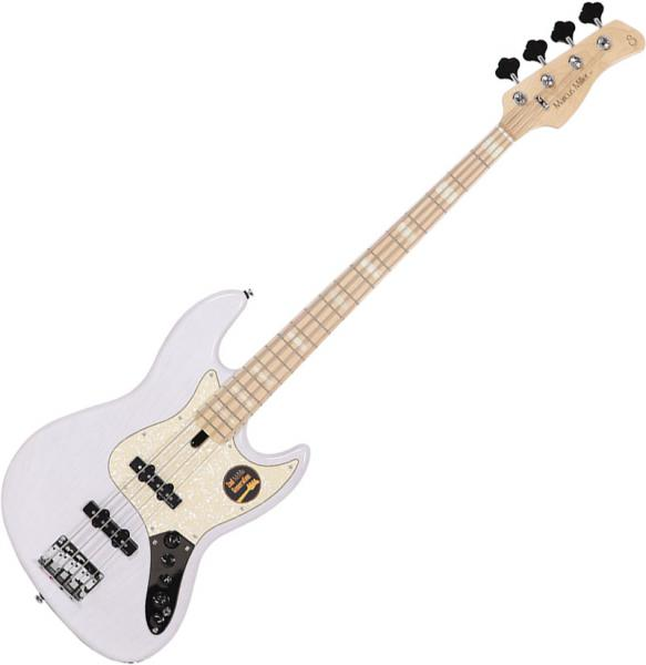 Basse électrique solid body Marcus miller V7 Swamp Ash 4ST 2nd Gen (No Bag) - white blonde