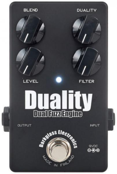 Pédale overdrive / distortion / fuzz Darkglass Duality Fuzz Engine Ltd - Black